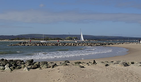 Sandbanks- Entrance to Poole Harbour